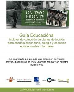 En Dos Frentes Guia Educacion (Espanol)