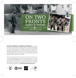 On Two Fronts Postcard-thumb